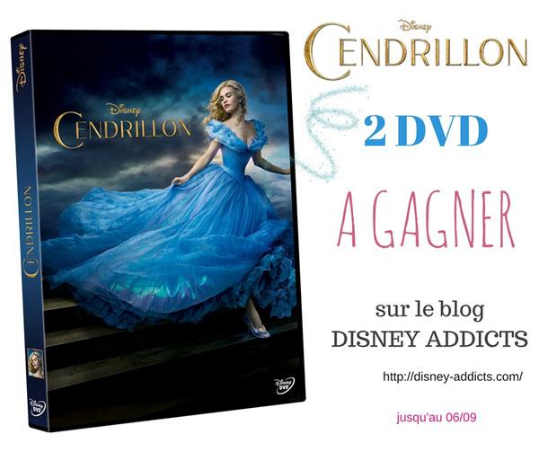 Concours 2 dvd de Cendrillon à gagner