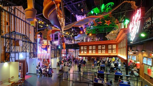 Où manger à Disneyland Paris ? Restaurant en coulisses dans les studios Walt Disney