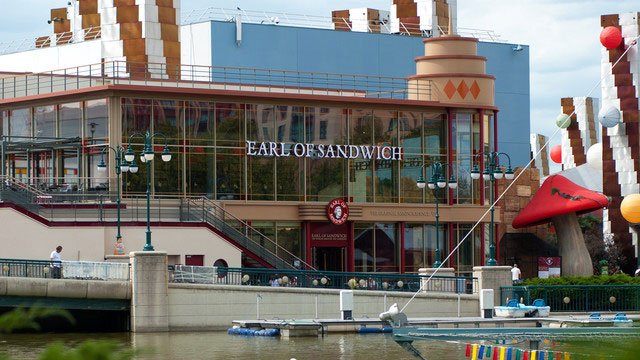 Où manger à DIsneylandaris ? Earl of sandwich