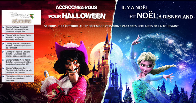 Vente privée Disneyland Paris 2015
