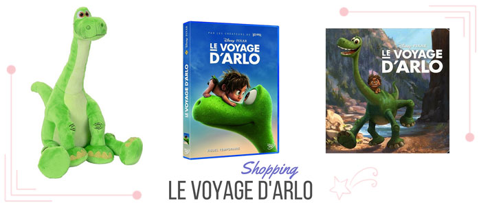 Shopping Le voyage d'Arlo de Disney