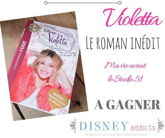 Violetta roman inédit à gagner