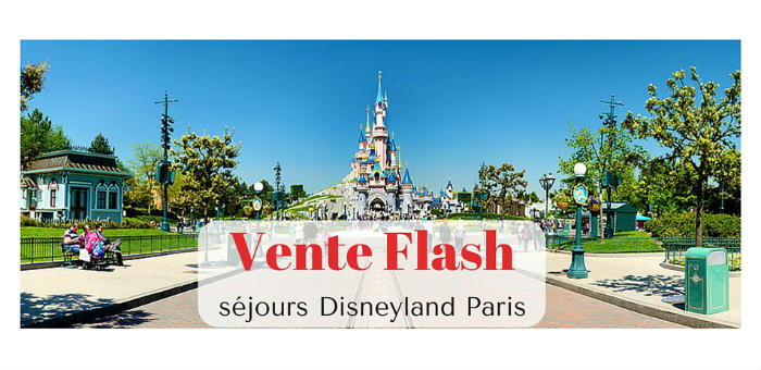 vente flash disneyland paris 45 gratuit pour les. Black Bedroom Furniture Sets. Home Design Ideas
