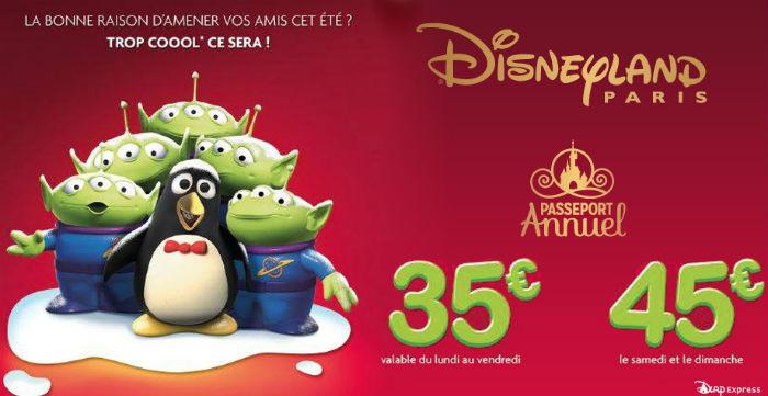 Disneyland Paris : les billets ami, c'est reparti !