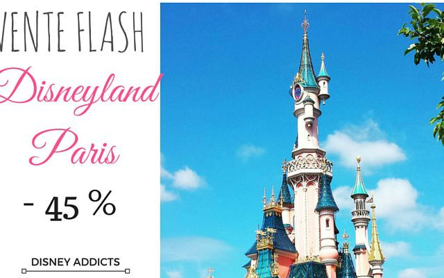 Vente flash Disneyland Paris