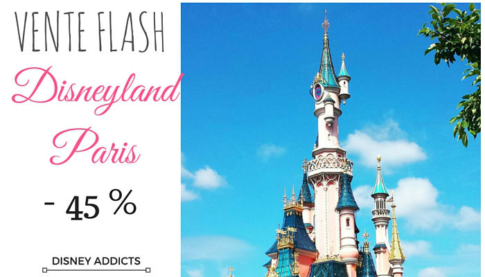 Vente flash Disneyland Paris
