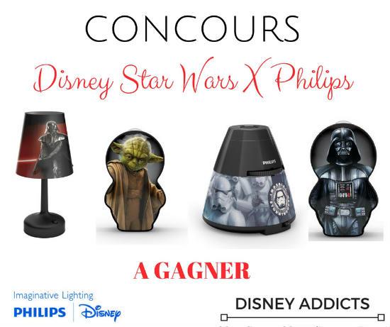 Lampes Philips Star Wars à gagner