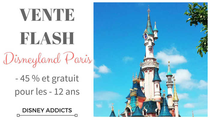 Vente flash Disneyland Paris hiver 2016