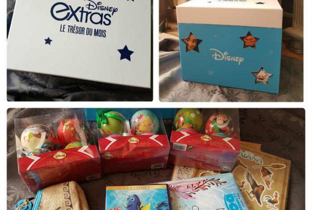 Box de Disney Extras