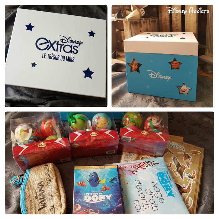 Box de Disney Extras