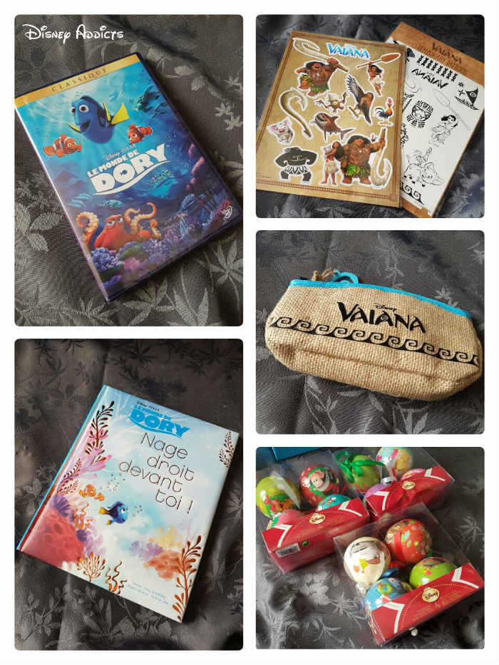 Box Disney Extras