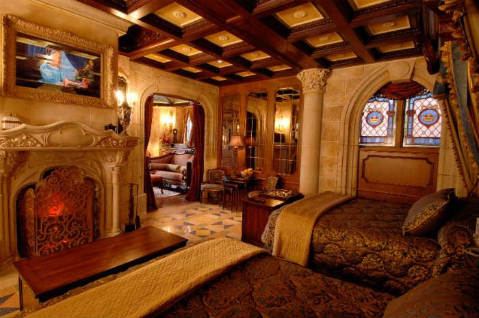 peut-on dormir dans le château de la belle au bois dormant ?