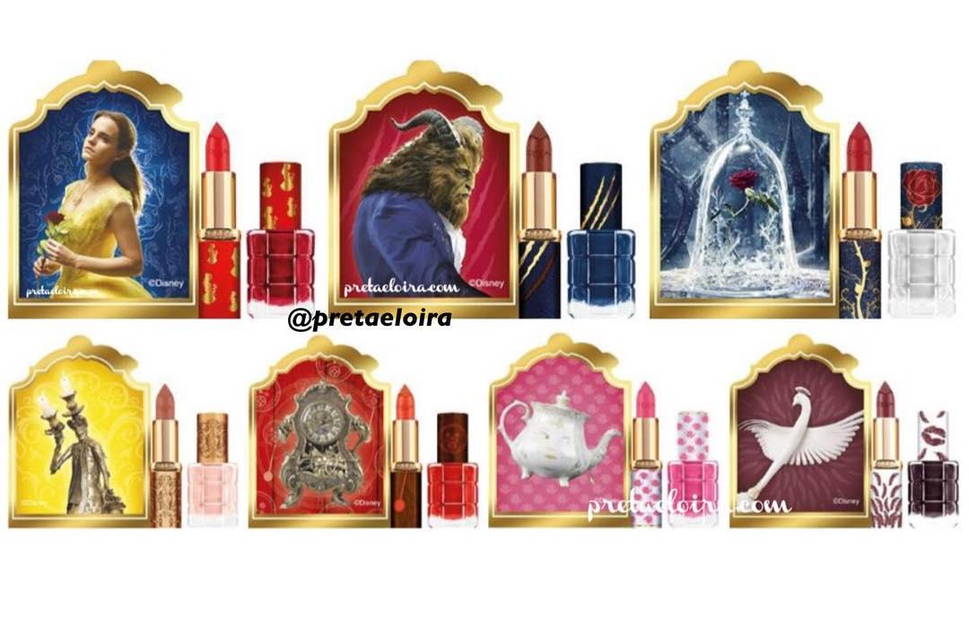 Maquillage L'Oréal La Belle et la Bête