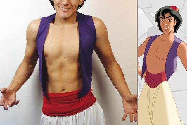Déguisement princes Disney Cosplay