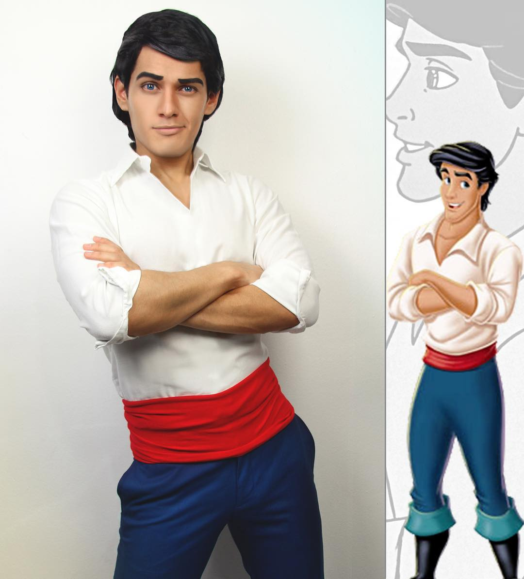 Déguisement princes Disney Cosplay