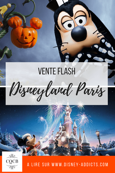 Vente flash Disneyland Paris Halloween et Disney 2017 à retrouver sur http://disney-addicts.com/disneyland-paris/vente-flash-disneyland-paris-halloween-noel-2017/
