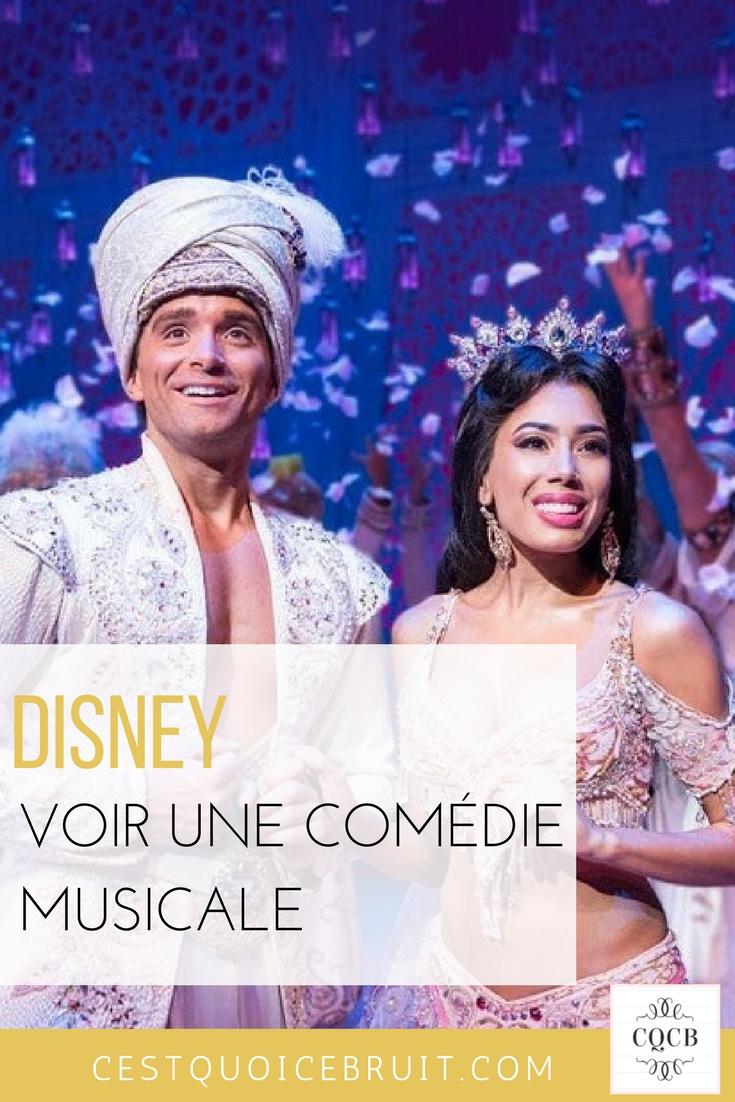 Voir une comédie musicale Disney en famille #disney #disneyaddicts #londres #famille