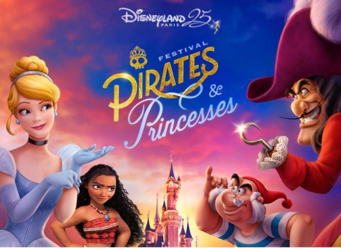 Festival Pirates et Princesses à Disneyland Paris