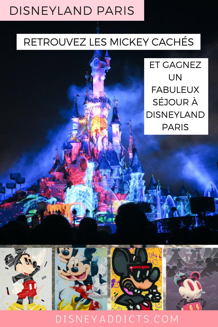 Retrouvez les hidden Mickey et gagnez un fabuleux séjour à Disneyland Paris au Disneyland Hotel #disneyland #disneylandparis #disneylandhotel #concours
