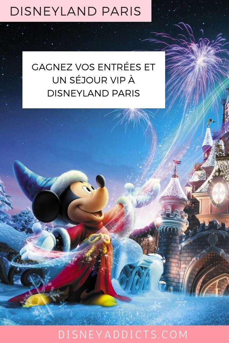 Gagnez des entrées et des séjours à Disneyland Paris #disneylandparis #disneyland #concours #famille
