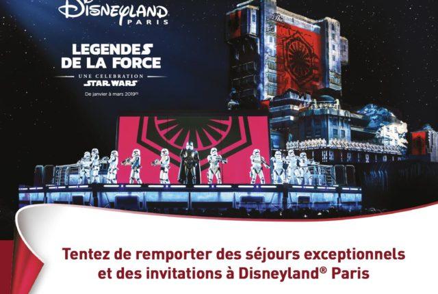 Concours Disneyland paris Leclerc