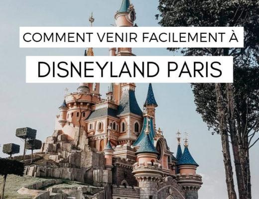 Comment se rendre à Disneyland Paris facilement #disney #disneylandparis #transport #voyage #france