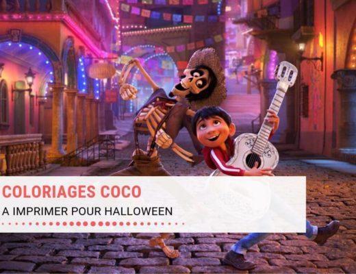 Coloriages Coco à imprimer