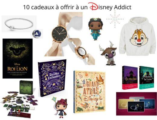 10 cadeaux à offrir à un Disney addict