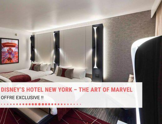 Réserver un séjour au Disney's Hotel New York- The Art of Marvel !