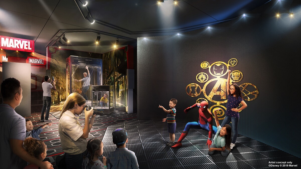 Rencontrez les Super héros Marvel au Disney Hotel New York
